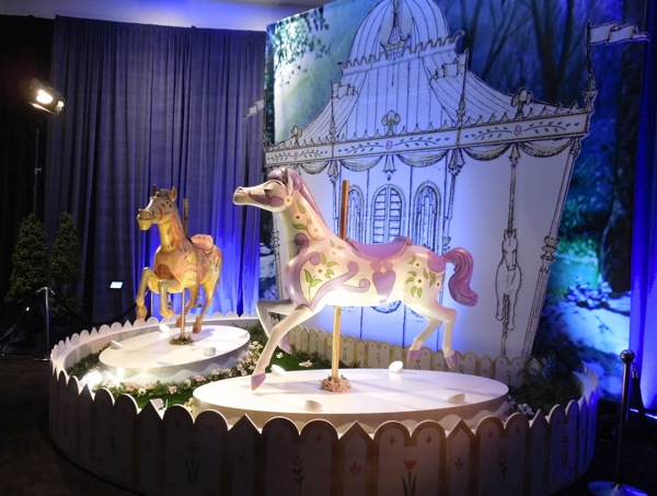 Mary Poppins carousel horse props