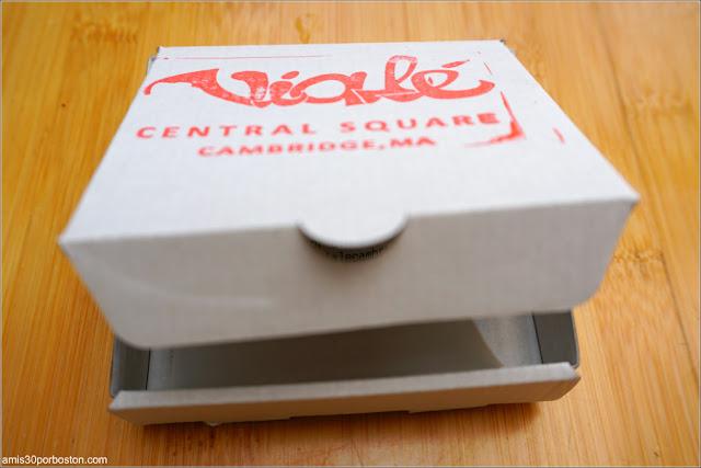 Mini Caja de Pizza para la Cuenta en Viale