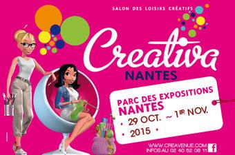 Créativa, Nantes, loisirs créatifs, la perle des loisirs