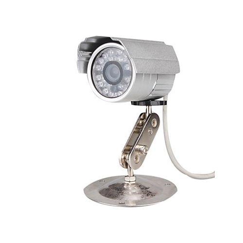 telecamera videosorveglianza con registrazione su micro SD con 36 led infrarossi con telecomando ...