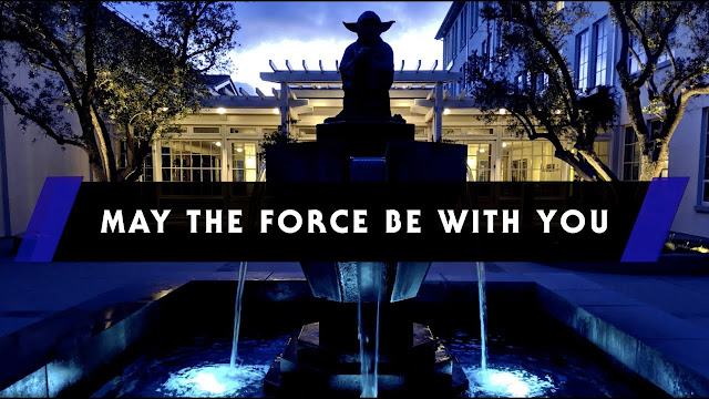 A Message from Mark Hamill and Lucasfilm, May the Force be with you, Star Wars