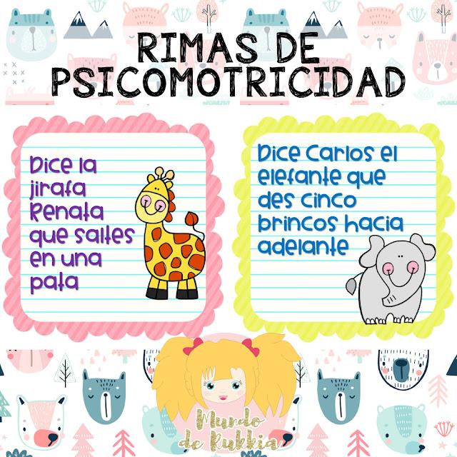 rimas-psicomotricidad-niños