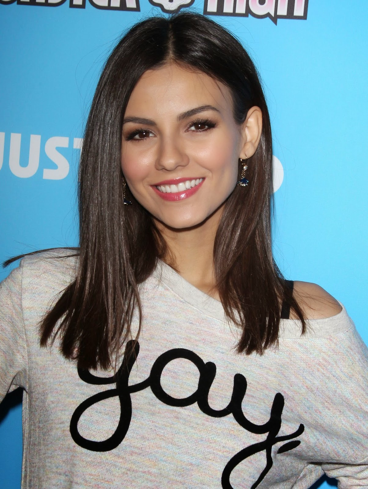 Victoria Justice at Just Jared's Throwback Thursday Roller Skating Party in LA