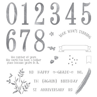 Number of Years - Simply Stamping with Narelle - available here - http://bit.ly/2ozKHTh