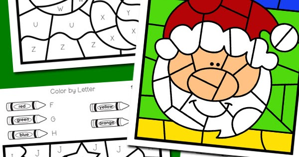 christmas color by letter totschooling toddler preschool kindergarten educational printables