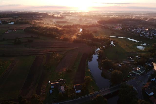 Drwęca Ciechocin - Zachód słońca