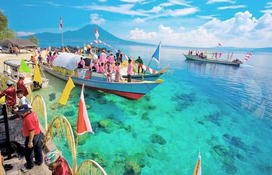 Festival Monumen Dunia Timur - Barat Tidore