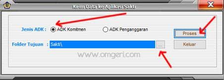Cara Mengirim ADK Gaji Induk GPP Ke Aplikasi SAKTI Untuk Membuat SPP dan SPM