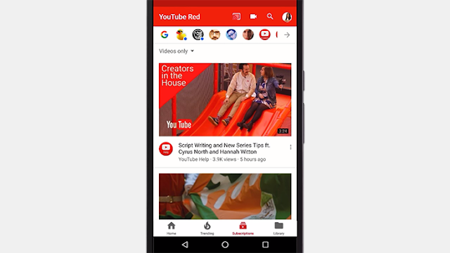 youtube rolls out the bottom navigation bar ui to android