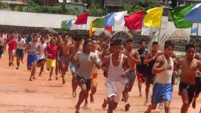 मुजफ्फरपुर में 2679 युवाओं ने लगाई दौड़, 283 सफल, आज सोल्जर टेक्निकल श्रेणी में होगी बहाली
