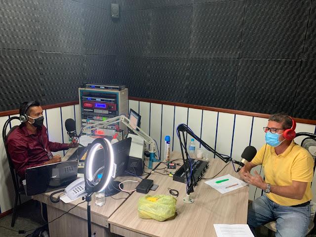 Em entrevista à emissora de Radio, Dr. Francisco desmente adversários, fala sobre sonhos para o futuro e declara pré candidatura.