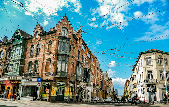 Rua da comuna de Saint-Gilles, Bruxelas