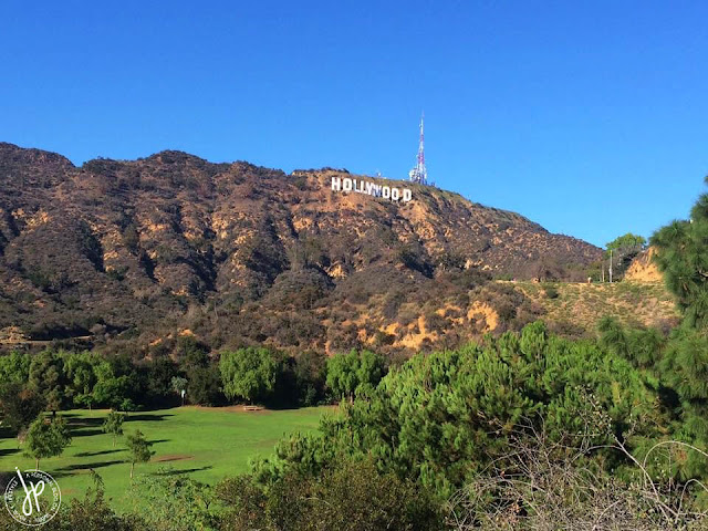 hollywood sign on mountain