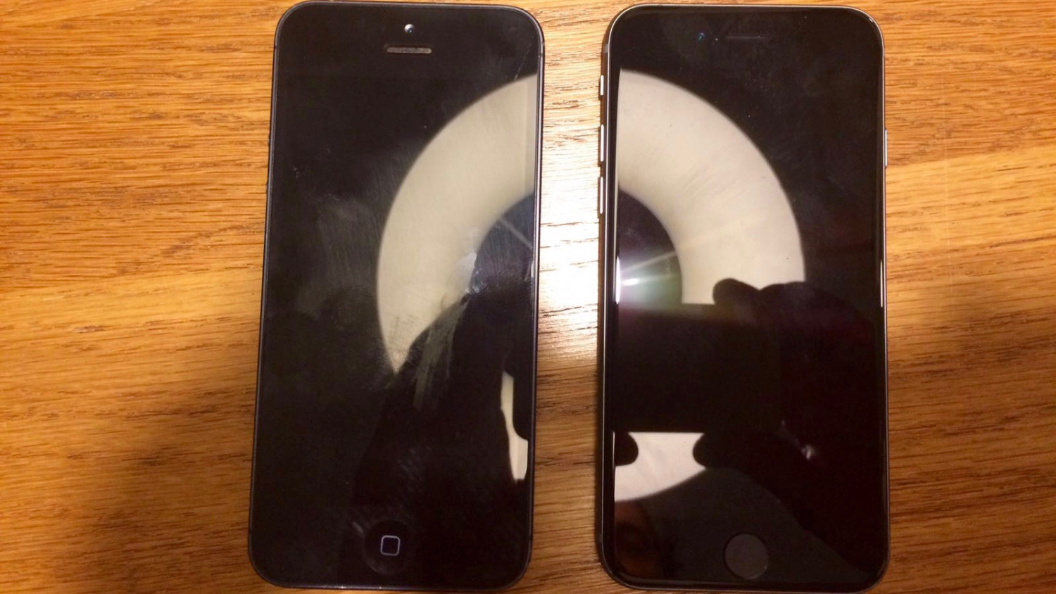 iPhone 5 vs iPhone 5se