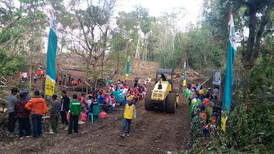 Konflik Batas Desa di Soppeng, TMMD 106 Turut Serta Selesaikan