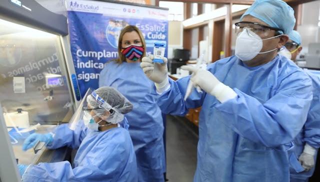 Hospital Nacional Adolfo Guevara Velasco de EsSalud, en Cusco procesará pruebas moleculares en una hora