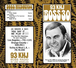 KHJ Boss 30 No. 170 - Bill Wade
