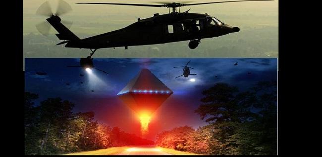 Τα μαύρα ελικόπτερα αλλάζουν το σχήμα τους ? και  οι Μη Ανθρώπινες Οντότητες  δαίμονες . VIDEO