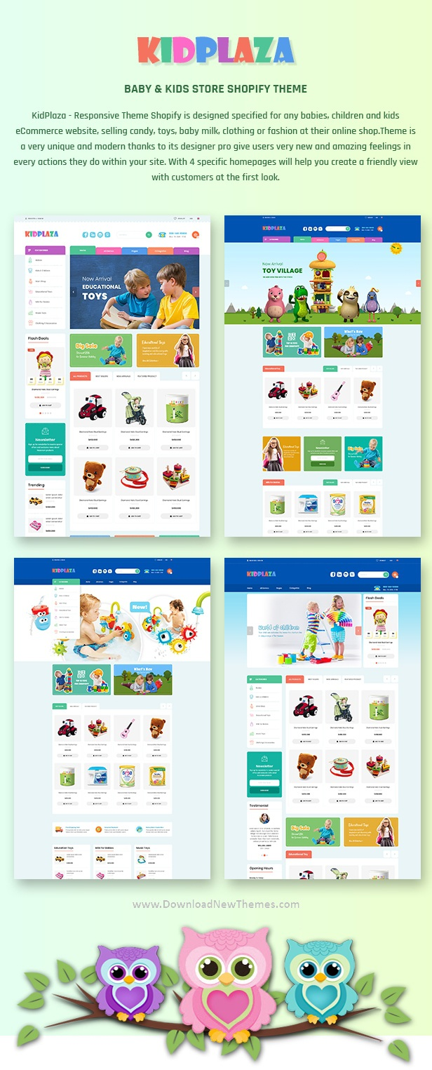 Baby & Kids Store Shopify Theme