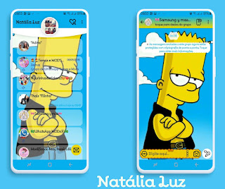 Cartoon Cute Theme For YOWhatsApp & Fouad WhatsApp By Natalia Luz