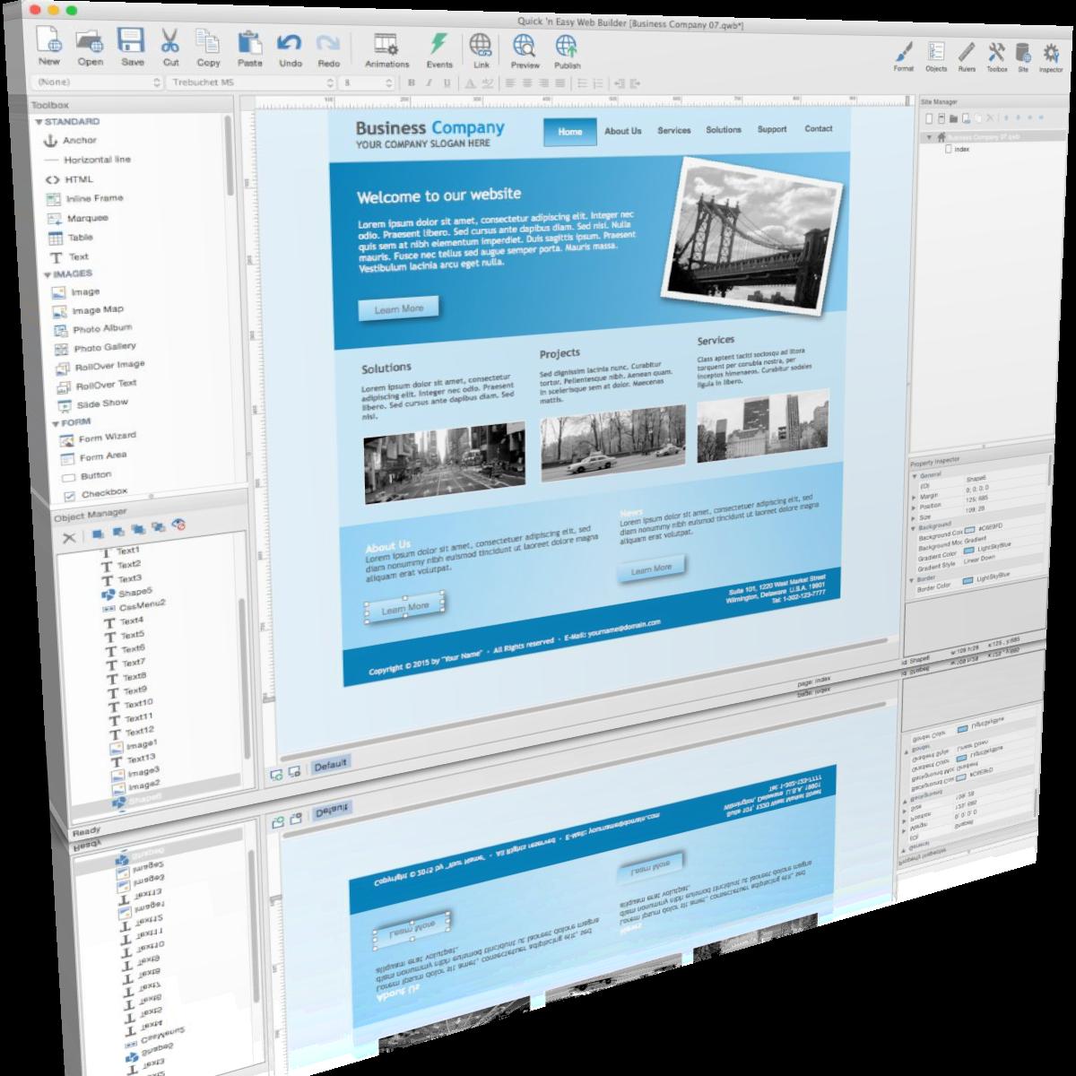 Quick N Easy Web Builder V7 1 0 Full Version 4download