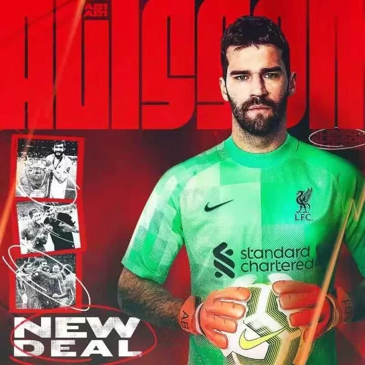 OFFICIAL: Alisson signs a new deal with Liverpool until 2027