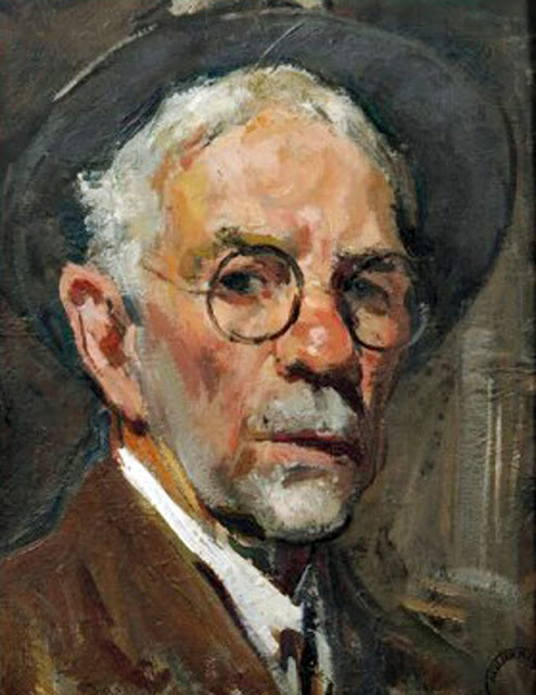 Jules Eugène Pages, Self Portrait, Portraits of Painters, Fine arts, Portraits of painters blog, Paintings of Jules Eugène Pages, Painter Jules Eugène Pages