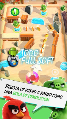 Descarga Angry Birds Action! v2.6.2 pana android