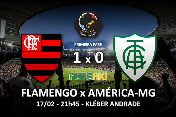 Veja o resumo da partida com o gol e os melhores momentos de Flamengo 1x0 América-MG pela 2ª rodada da Copa Sul-Minas-Rio 2016.