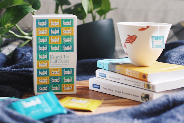 kusmi tea detox livres et the