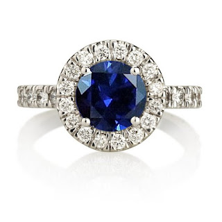 Duets Fine Jewelry Etsy Sapphire Ring is Stunning