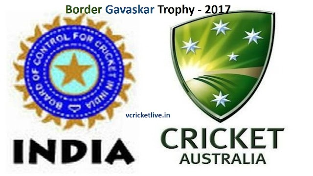भारत ऑस्ट्रेलिया के बिच होने वाली बोर्डर - गावस्कर ट्रोफी का कार्यक्रम घोषित