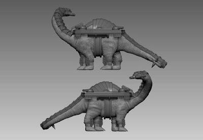Dinoborg - Bronto picture 1