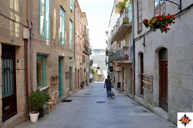 Vigo, centro storico