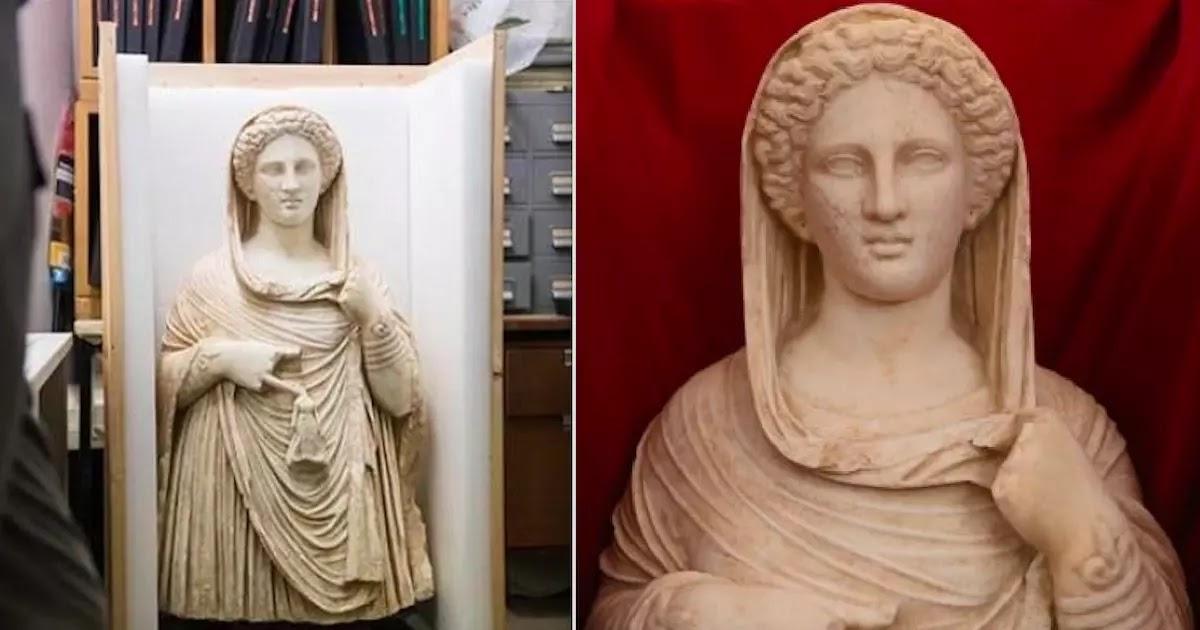 British Museum Returns Stolen Ancient Greek Statue To Libya