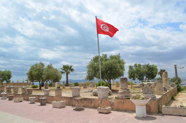 Colina de Byrsa ou a Acrópoles de Cartago
