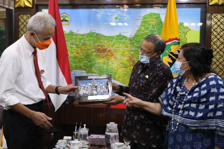 Bahas Peluang Investasi di Jateng, Dubes India untuk Indonesia Temui Ganjar