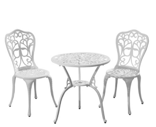 Outsunny 3pc  Bistro Outdoor Set
