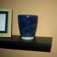 Blue Mini Vase
