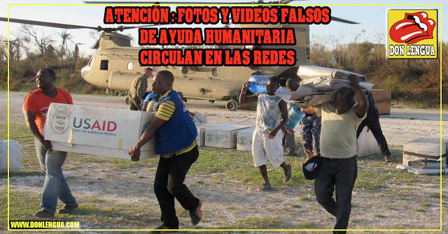 Maduro planea recibir la ayuda humanitaria y repartirla a quien tenga Carnet de la Patria