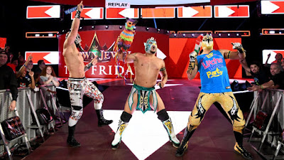 Kalisto Gran Metalik Lucha Raw 205 Cruiserweight