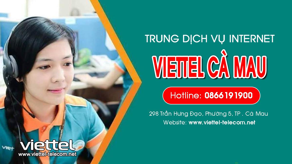 Viettel Cà Mau - Tổng đài lắp mạng Internet và Truyền hình ViettelTV