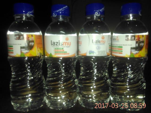 Air mineral mengantarkan ke masa depan