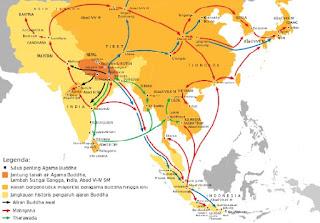 Teori Masuknya Agama Budha ke Indonesia
