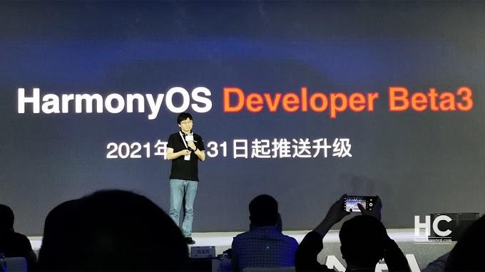 أعلنت شركة هواوي عن HarmonyOS mobile beta 3