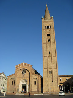 The Abbey of San Mercuriale in Forlì was a  familiar sight in Biondo's time, as now