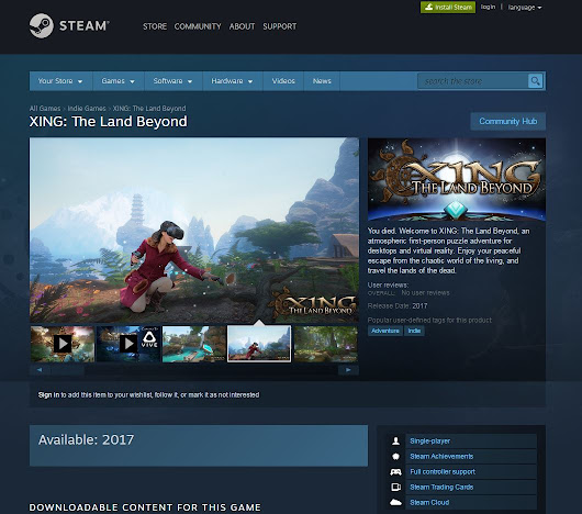 Steam Store Page!