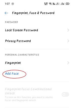 Add Face