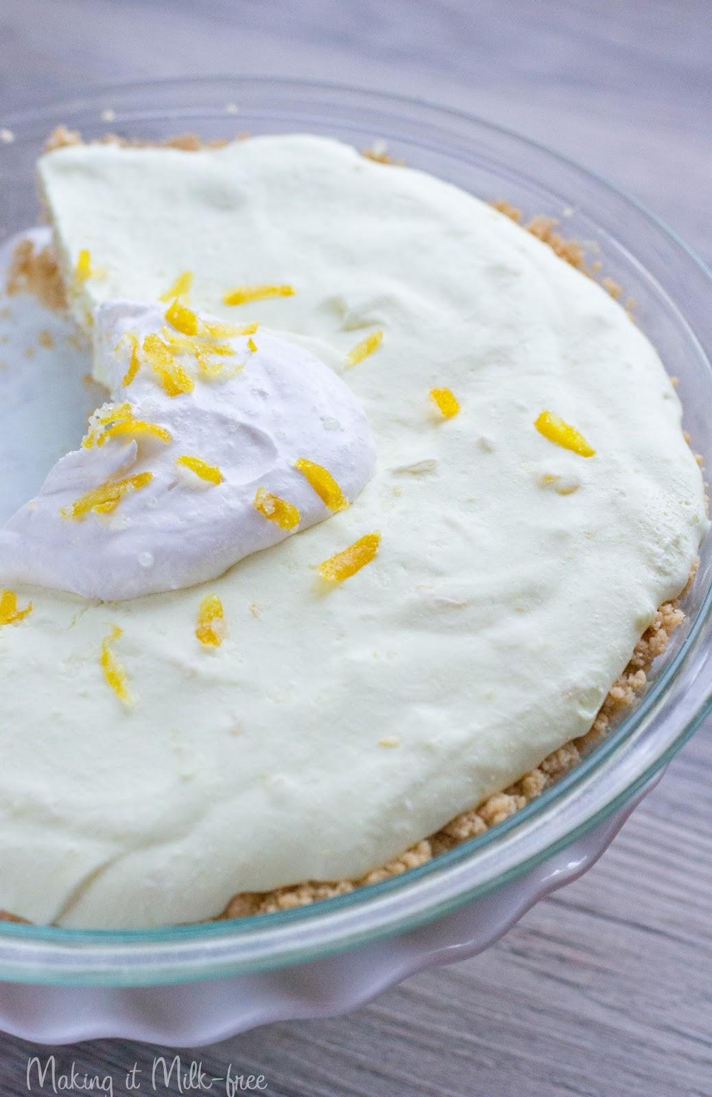 Vegan Lemon Layer Cake