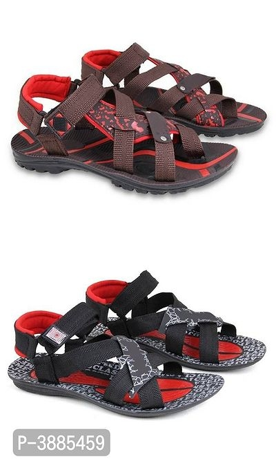 Exclusive Collection Of Elegant Sandals For Men Pack Of 2 Online Shopping | Sandals For Men Online |